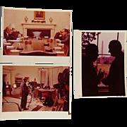 Unpublished Photos Richard Nixon & Lyndon Johnson December 1968
