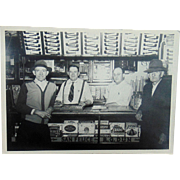 Bill Jones and His Cigar Shop Photograph
