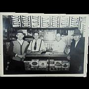 Bill Jones and His Cigar Shop Photograph