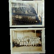 Skinner's Silk Mills in Malden, Mass c.1920's Malden Mills