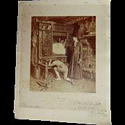 Harry Mosler  Signed  Painting  of Le retour du fils prodigue