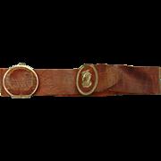 1850's Victorian Ladies Belt with Secret Compartment