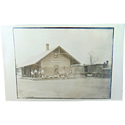 RPPC Watertown,New York Railroad Depot Station