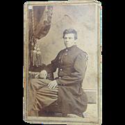 103 Pennsylvania Infantry Civil War Soldier CDV Photograph Harrisburg, PA
