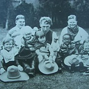 Original 1920's Photo of William's Hart Our Gang