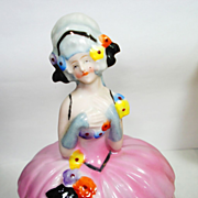 RARE Homer Conant German Dresser Doll Powder Jar