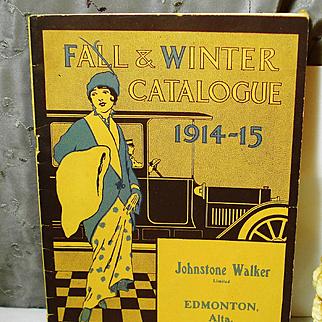 1914 -15 Winter Catalog Johnstone Walker Limited Corsets Stockings Tea Dresses EDWARDIAN