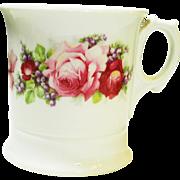 Victorian Roses Shaving Mug and Brush Germany
