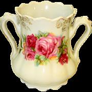 Romantic Roses Victorian Spooner Toothbrush Holder