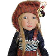 "Zwergnase 21"" Flavie Vinyl Freckled Girl Germany MIB"