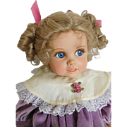 "20"" Dolls by Jerri McCloud Happy Vinyl Girl w/ Side Glancing Blue Eyes"