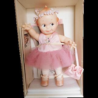 """Vintage 1980's Cameo Jesco 11"""" Kewpie Girl Ballerina w/ Box"""