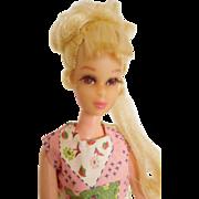 Nice! Vintage Mod 1970 Francie w/ Growin Pretty Blonde Hair