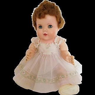 "Vintage 1950's Toodles 20"" Vinyl Baby American Character w/ Original Dress"