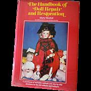 Vintage 1979 Hard Cover Book Handbook of Doll Repair & Restoration M.Westfall