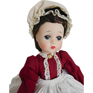 "Beautiful Color! Vintage 1960 Alexander 12"" Lissy Marme Little Women All Orig."
