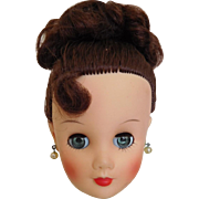 "Vintage Uneeda Dollikin Head High Color & Spit Curl for 19"" Doll"