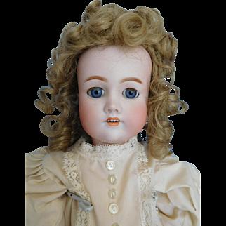 "Antique 23"" C. Bergmann Simon & Halbig Bisque Socket Head Girl"