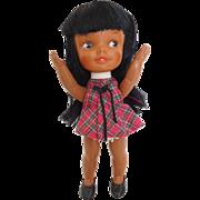 """Rare! Remco 5.5"""" Heidi Jan Black African Americn All Original"""