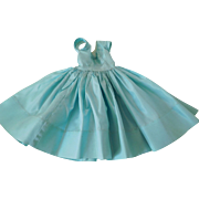 "Vintage 1950's Alexander Tagged Cissy Light Blue Taffeta Dress for 21"" Fashion"
