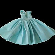 "Vintage 1950's Alexander Tagged Cissy Light Blue Taffeta Dress for 21"" Fashion"