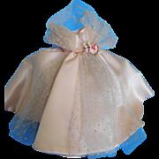 Gorgeous! Vintage 1950's Alexander Tagged Cissette Pink Gown w Crispy Half Slip