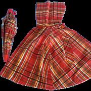 Vintage 1930's Mollye's Rain Cape & Umbrella for Shirley Temple & Patsy Dolls