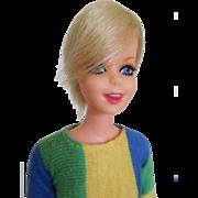 1967 Mattel Mod Twiggy British Fashion Model in Tagged Original Clothes