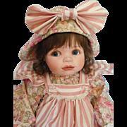 "Precious! Ellenbrooke 20"" Porcelain Girl by Connie W. Derek"