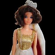1972 Barbie Walk Lively Miss America w/ Steffie Face