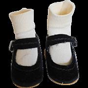 """Vintage 1950's Alexander Shoes & Socks for 12"""" Lissy Hard Plastic"""