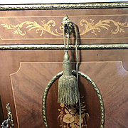 French Napoleon III Gold Metallic Tie Back Large Chateau Size