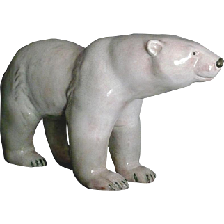 Werkstatte Austria Ceramic Polar Bear