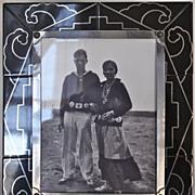 Art Deco Art Tile Easel Frame Circa 1925
