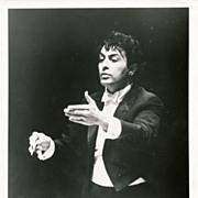 Zubin Mehta, Music Director of the Los Angeles Philharmonic 1970's