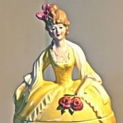 Madame Pompadour, porcelain dresser doll