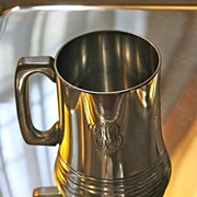 Antique Pewter Presentation Tankard