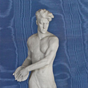 Rosenthal Discus Thrower c. 1934 Third Reich art, by Otto Obermaier