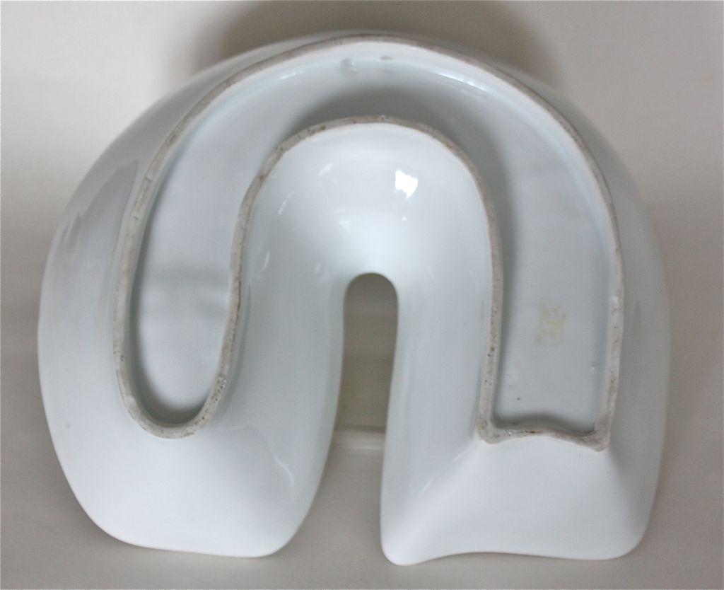 Art deco porcelain food mold c 1930 39 s from decosurfn rl for Cuisine art deco