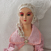 Late 1920's restored Victor Keney Sleep-eye boudoir doll