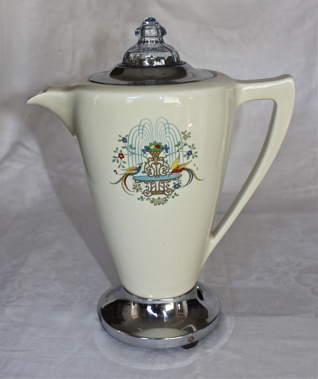 1930's GE/Hotpoint Porcelain Electric Percolator