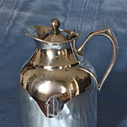 Silverplated Luxury Liner Thermal Coffee Carafe 1950's-60's
