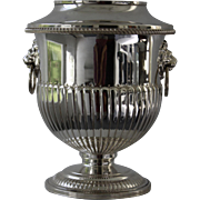 Issac Freeman and Son Ltd. Silver-plated Wine Cooler
