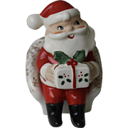 Mid Century Mod Christmas Santa Salt and Pepper Shaker