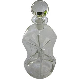 Mid 20th Century Holmgaard Klug Klug Decanter