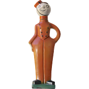 Goebel Art Deco Bellhop Liquor Decanter