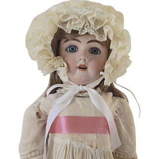 """Handwerck 31"""" Bisque and Composition Doll Circa 1891"""