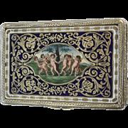 Early 20th Century Florentine 800 Silver Snuff Box