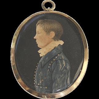 19th Century Miniature Portrait