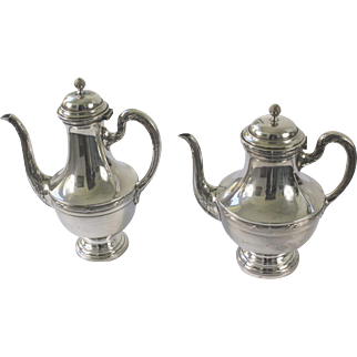 Breidenstein & Renaud Silverplate Coffee and Tea Pot